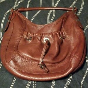B Makowsky leather bag